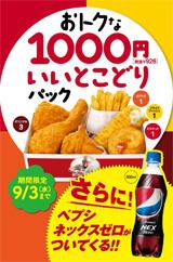 1000円いいとこどりパック
