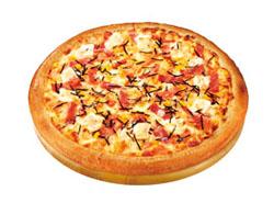 明太もち入りピザ